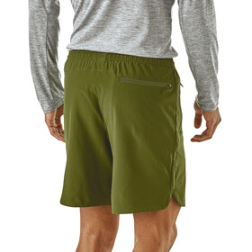 Patagonia M's Nine Trails Shorts Sprouted Green